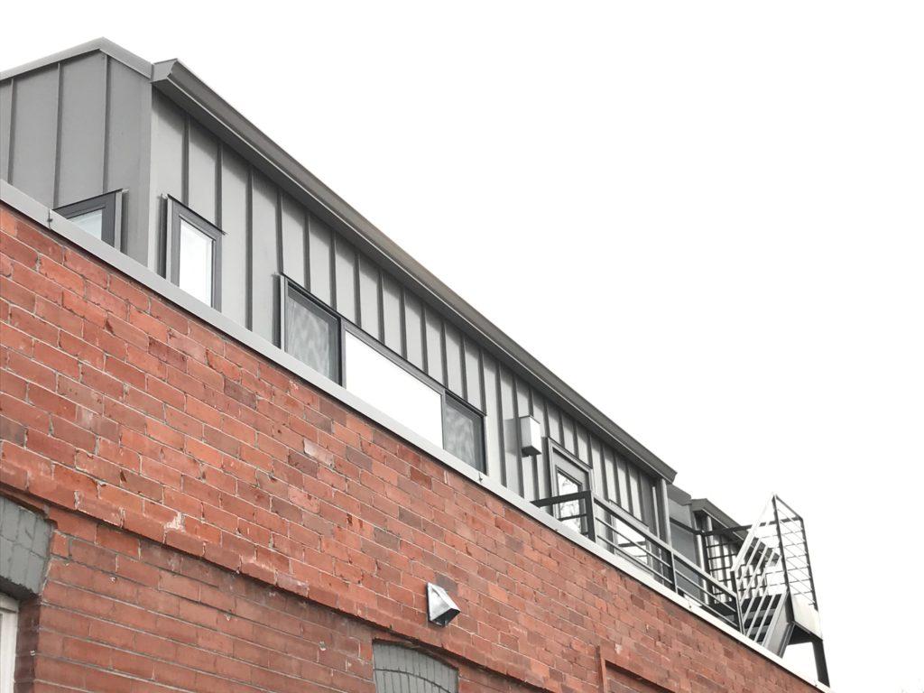 architectural metals lallier construction roofing denver
